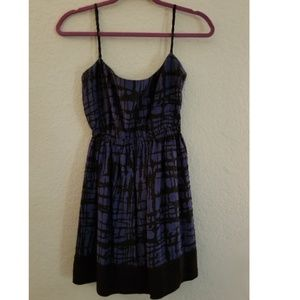 Dresses & Skirts - Blue and black dress